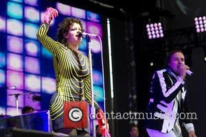 Régine Chassagne and Win Butler (Arcade Fire) - Arcade Fire performing in Berlin, Germany - Berlin, Berlin, Germany - Wednesday...