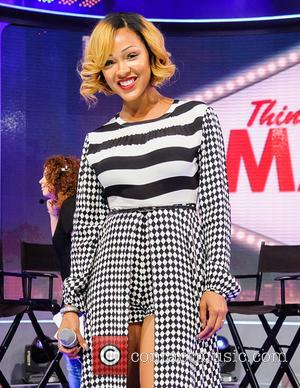 Meagan Good - The Cast of \Think Like a Man\ visits 106 and Park - New York, New York, United...