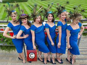 2014 Royal Ascot - Atmosphere and Celebrity Sightings - Day 3 - Ladies Day/Gold Cup Day - Ascot, United Kingdom...