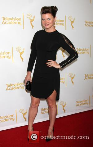 Heather Tom - Academy of Television Arts and Sciences (ATAS) Daytime Emmy Nominees Reception 2014 - Arrivals - Los Angeles,...