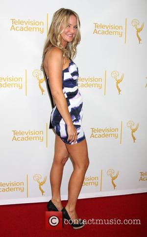 Sharon Case - Academy of Television Arts and Sciences (ATAS) Daytime Emmy Nominees Reception 2014 - Arrivals - Los Angeles,...