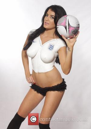 Carla Howe, Melissa Howe and The Howe Twins - The Howe Twins World Cup 2014 photoshoot - Los Angeles, California,...