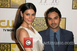 Neha Kapur and Kunal Nayyar - 4th Annual Critics' Choice Television Awards at The Beverly Hilton Hotel - Arrivals -...