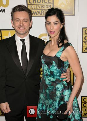 Michael Sheen and Sarah Silverman - 4th Annual Critics' Choice Television Awards at The Beverly Hilton Hotel - Arrivals -...