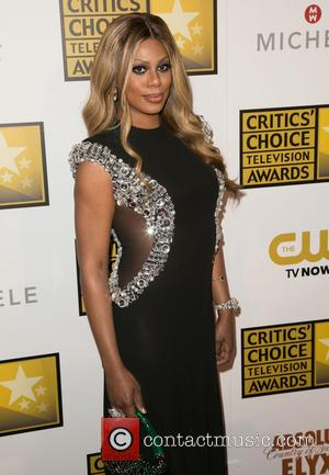 Laverne Cox - 4th Annual Critics' Choice Television Awards at The Beverly Hilton Hotel - Arrivals - Los Angeles, California,...