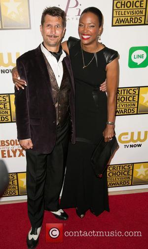 Lucky Yates and Aisha Tyler