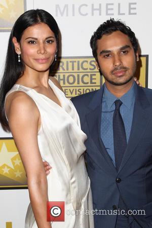 Neha Kapur and Kunal Nayyar - 4th Annual Critics' Choice Television Awards at The Beverly Hilton Hotel - Beverly Hills,...