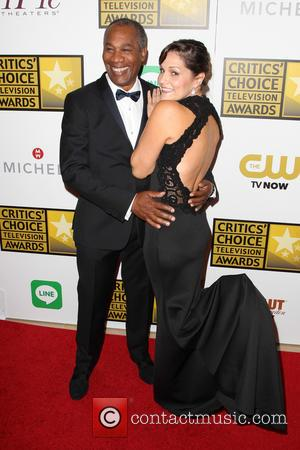 Joe Morton and Nora Chavooshian - 4th Annual Critics' Choice Television Awards at The Beverly Hilton Hotel - Beverly Hills,...