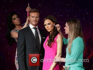 David Beckham, Victoria Beckham, Caryn Bloom, Rebecca Holmes, Wax Work Waxwork and Figures