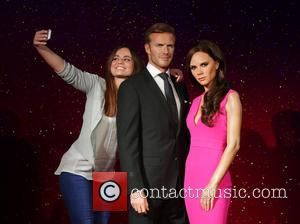 David Beckham, Victoria Beckham, Stephanie Francis, Wax Work Waxwork and Figures