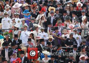 2014 Royal Ascot - Royal Arrivals - Day 3 - Ladies Day/Gold Cup Day - Ascot, United Kingdom - Thursday...