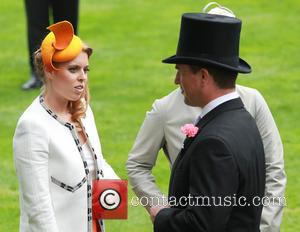 Princess Beatrice and Peter Phillips