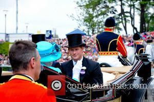 Prince Harry and Queen Elizabeth Ii