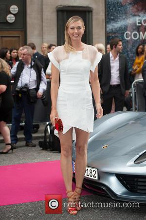 Maria Sharapova - WTA Pre-Wimbledon Party held at Kensington Roof Gardens - Arrivals. - London, United Kingdom - Thursday 19th...