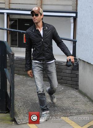 Enrique Iglesias - Enrique Iglesias spotted outside ITV Studios in London - London, United Kingdom - Friday 20th June 2014
