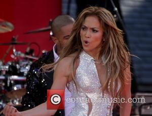 Jennifer Lopez - Jennifer Lopez performs live in Central Park as part of Good Morning America's Summer Concert Series -...
