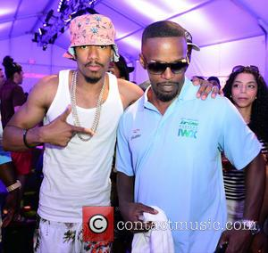 Nick Cannon and Jamie Foxx