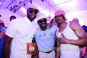 Shawn Marion, Dj Irie and Nick Cannon