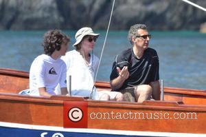 John Turturro, Katherine Borowitz and Diego Turturro