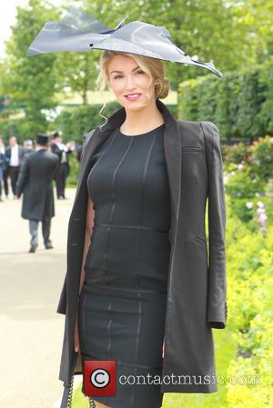 Amy Willerton - 2014 Royal Ascot - Atmosphere - Day 4 - Ascot, United Kingdom - Friday 20th June 2014