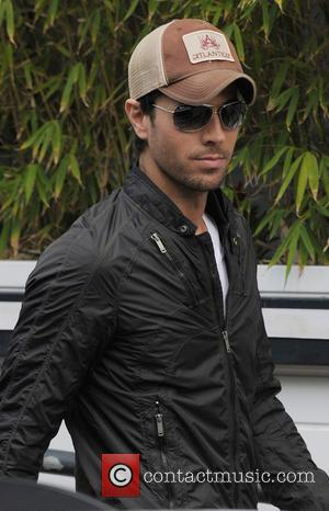 Enrique Iglesias - Celebrities outside the ITV studios - London, United Kingdom - Friday 20th June 2014