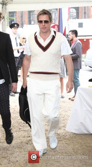 Hugh Grant - Dockers Flannels for Heroes Cricket Match held at the Royal Hospital Chelsea - London, United Kingdom -...