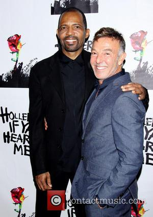 Daryl Waters and Wayne Cilento - Holler If Ya Hear Me opening night party held at Gotham Hall - Arrivals...