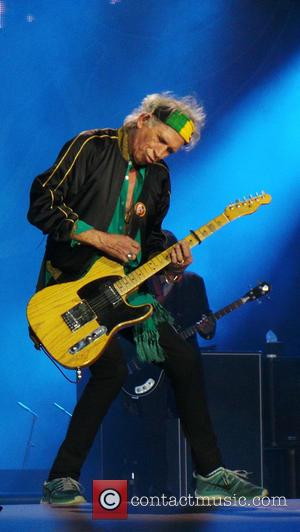 Keith Richards - Mick Jagger and the Rolling Stones play a sell out concert in Germany - Dusseldorf, Germany -...