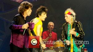 Mick Jagger, Charlie Watts, Ronnie Wood and Keith Richards