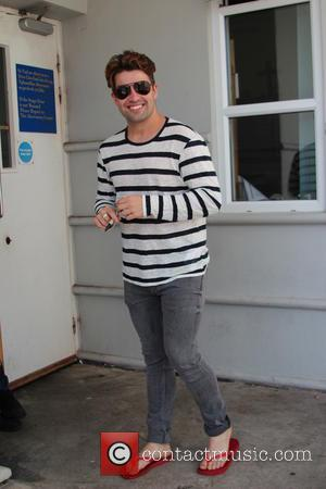 Joe McElderry - Joe McElderry arrives at Venue Cymru in Llandudno, Wales - Llandudno, United Kingdom - Saturday 21st June...