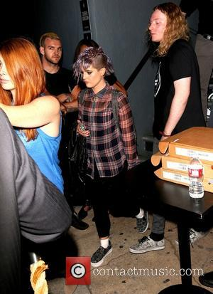 Kelly Osbourne - Kelly Osbourne leaves a Ray-Ban party at Mack Sennett studios - Los Angeles, California, United States -...