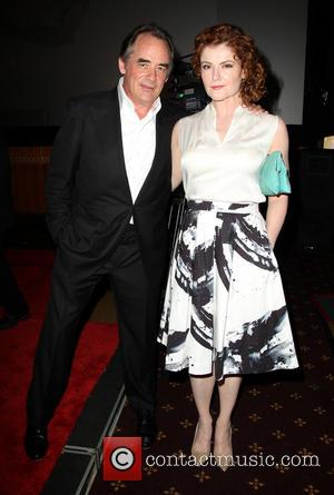 Tom Irwin and Rebecca Wisocky