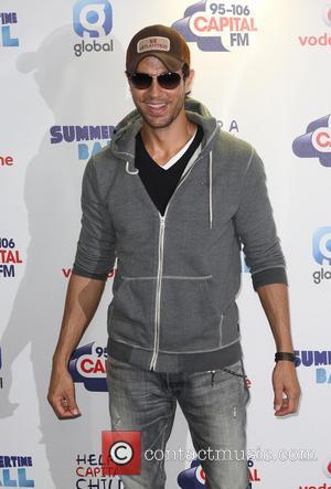 Enrique Iglesias - Capital FM Summertime Ball 2014 held at Wembley Arena - Arrivals - London, United Kingdom - Saturday...