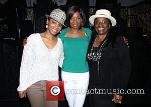 Anika Noni Rose, Adriane Lenox and LaTanya Richardson Jackson - Backstage at the Broadway musical After Midnight at the Brooks...