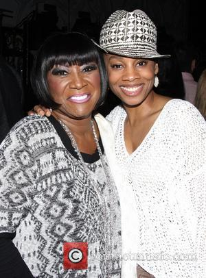 Patti LaBelle and Anika Noni Rose - Backstage at the Broadway musical After Midnight at the Brooks Atkinson Theatre. -...