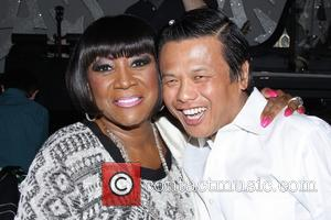 Patti LaBelle and Zang Toi - Backstage at the Broadway musical After Midnight at the Brooks Atkinson Theatre. - New...