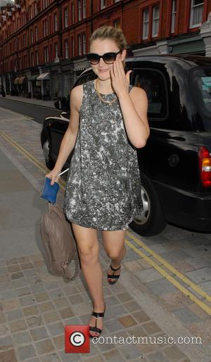 Amber Atherton - Celebrities visit Chiltern Firehouse restaurant in Marylebone - London, United Kingdom - Sunday 22nd June 2014