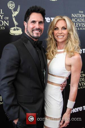 Cindy Ambuehl and Don Diamont