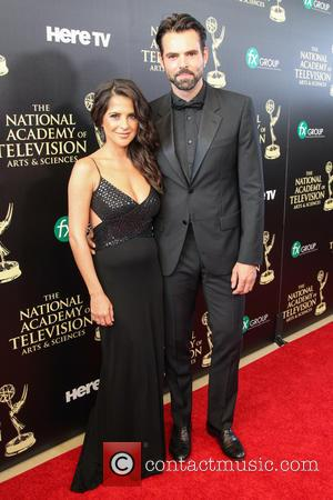 Kelly Monaco and Jason Thompson - The 41st Annual Daytime Emmy Awards at The Hilton Hotel - Beverly Hills, California,...