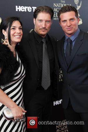 Michele Vega, Sean Kanan and Steve Burton