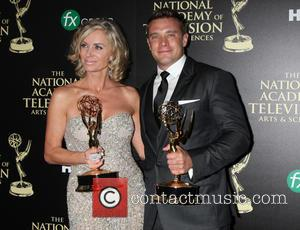 Eileen Davidson and Billy Miller