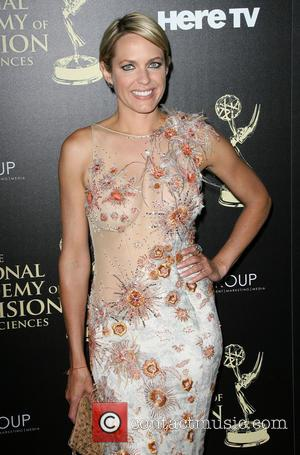 Arianne Zucker - 2014 Daytime Emmy Awards - Arrivals held at Beverly Hilton Hotel - Los Angeles, California, United States...