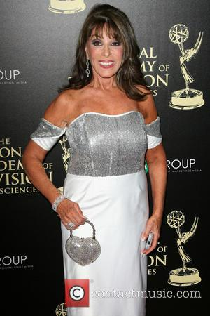 Kate Linder - 2014 Daytime Emmy Awards - Arrivals held at Beverly Hilton Hotel - Los Angeles, California, United States...