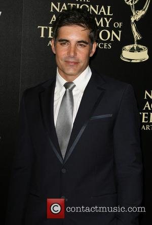 Galen Gering - 2014 Daytime Emmy Awards - Arrivals held at Beverly Hilton Hotel - Los Angeles, California, United States...