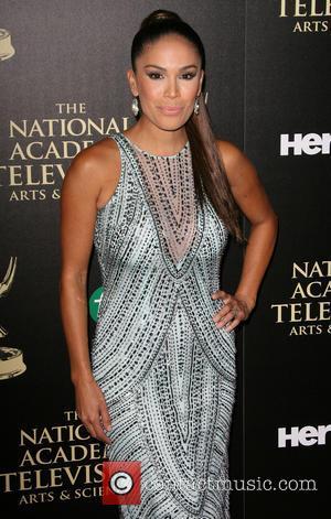 Karla Martinez - 2014 Daytime Emmy Awards - Arrivals held at Beverly Hilton Hotel - Los Angeles, California, United States...
