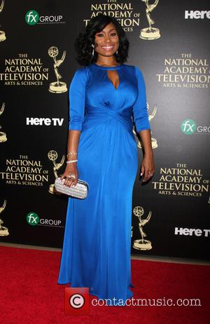 Angell Conwell - Daytime Emmy Awards 2014 held at The Beverly Hilton Hotel - Arrivals - Beverly Hills, California, United...