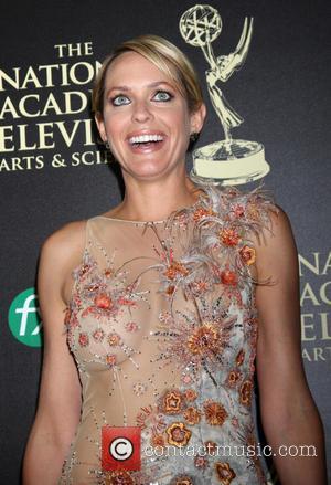 Arianne Zucker - Daytime Emmy Awards 2014 held at The Beverly Hilton Hotel - Arrivals - Beverly Hills, California, United...