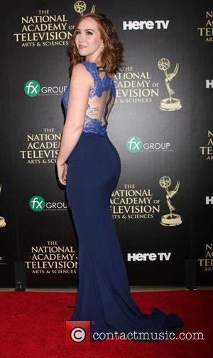 Camryn Grimes - Daytime Emmy Awards 2014 held at The Beverly Hilton Hotel - Arrivals - Beverly Hills, California, United...