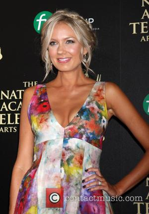Melissa Ordway - Daytime Emmy Awards 2014 held at The Beverly Hilton Hotel - Arrivals - Beverly Hills, California, United...