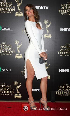 Michelle Stafford - Daytime Emmy Awards 2014 held at The Beverly Hilton Hotel - Arrivals - Beverly Hills, California, United...